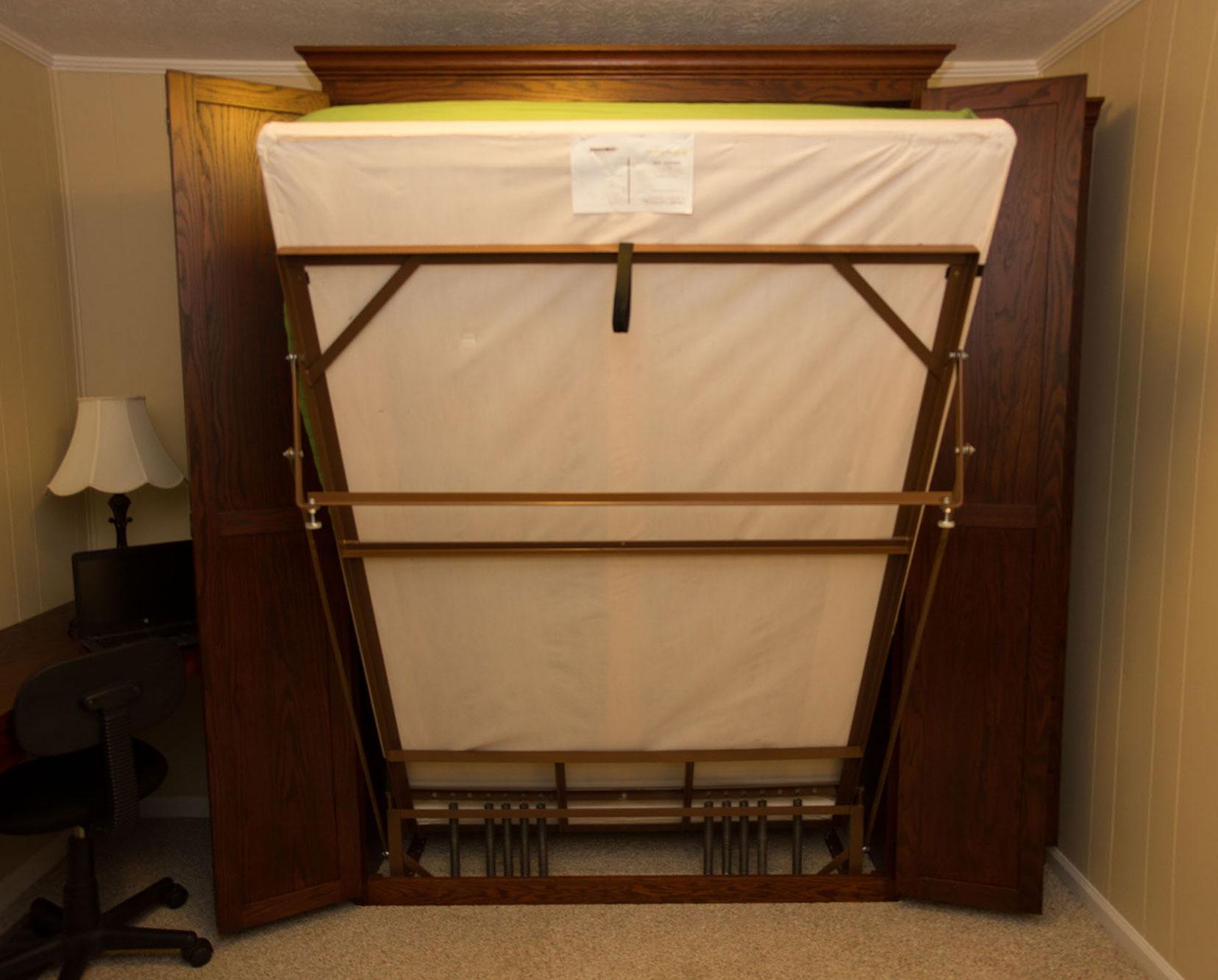 ezrest murphy bed frame in action - Ez Bed