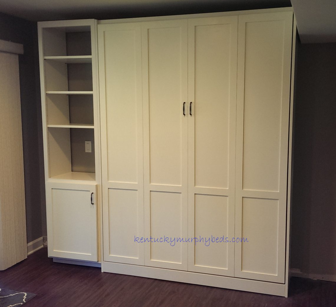 Fabulous New Panel Door Murphy Bed Design