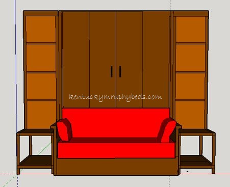 Wow!  Couch Murphy Bed!