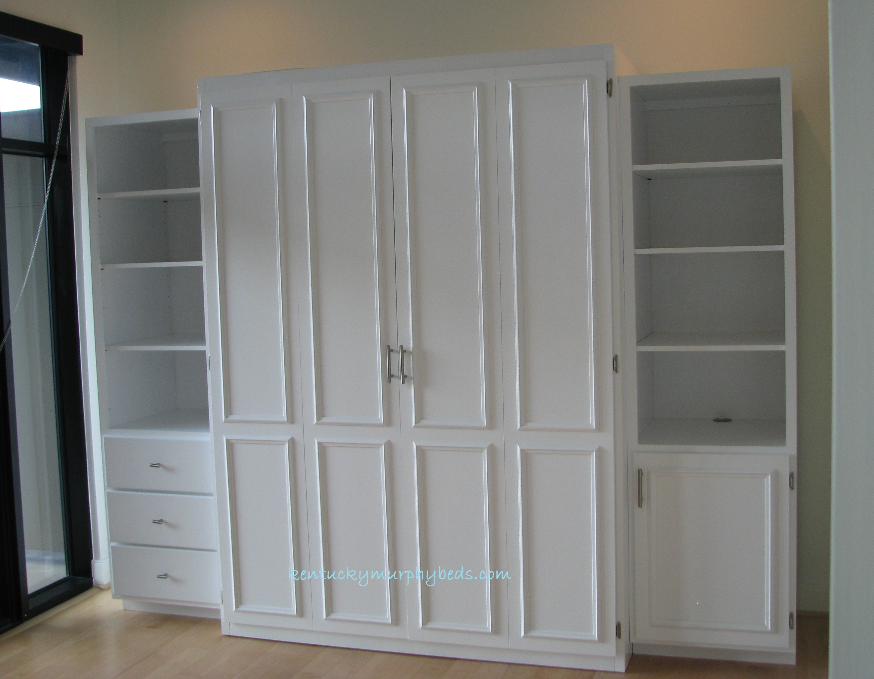 Stylish Queen Murphy Bed Architecture Home Gallery Image